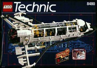 Lego Technic Space Shuttle - 8480